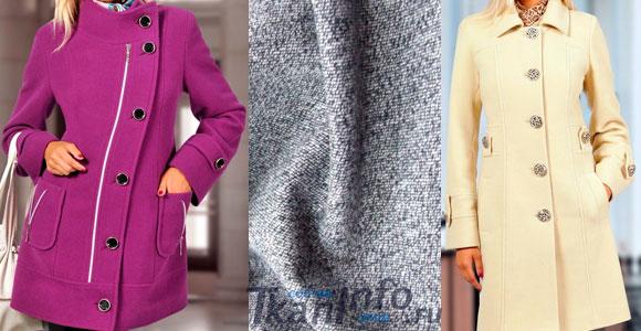 Пальтовая ткань - выбираем материал для пальто