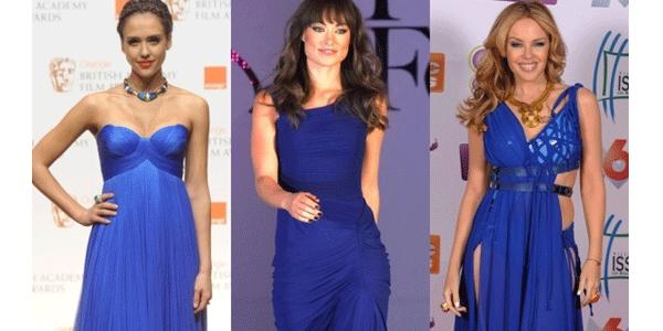 Бижутерия под темно синее платье