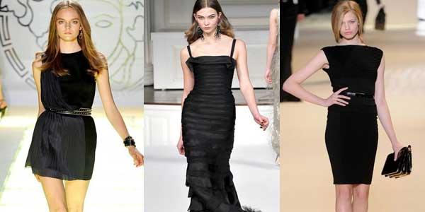Одежда подобрать черное к черному