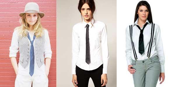 Женщины с галстуками