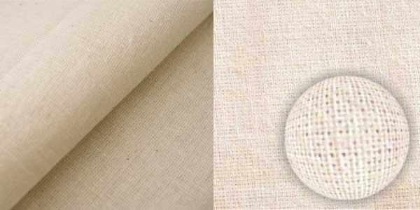 Ткань меткаль при увеличении
