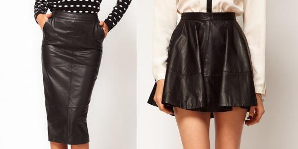 Как постирать кожаную юбку