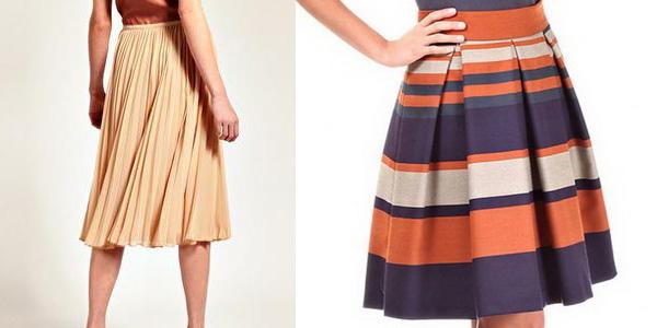 Как погладить юбку в складку