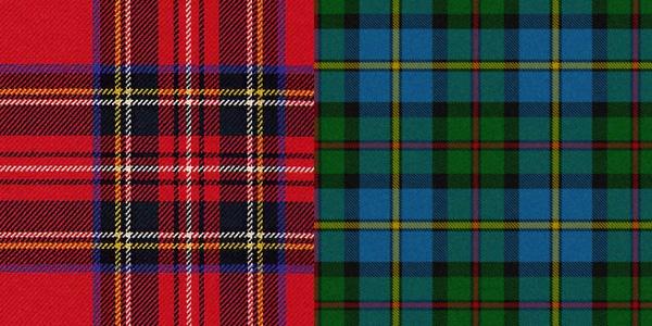 Классические узоры шотландки