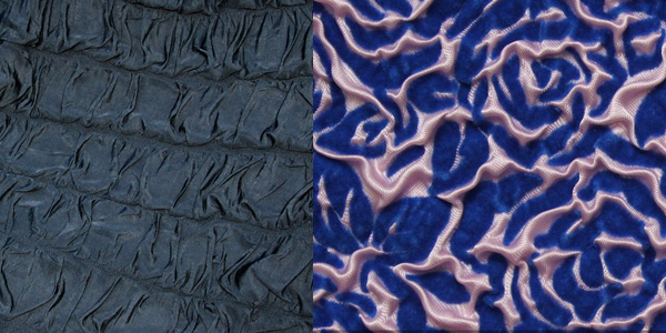 Ткань с эффектом клоке