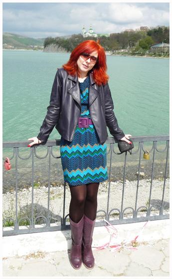 Куртка и платье пошиты Еленой