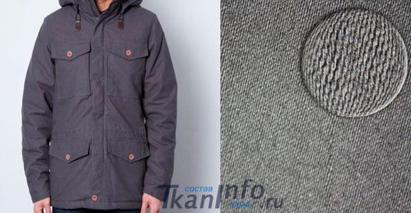 Мужская куртка из молескина