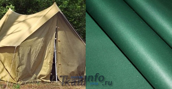 Палаточный материал