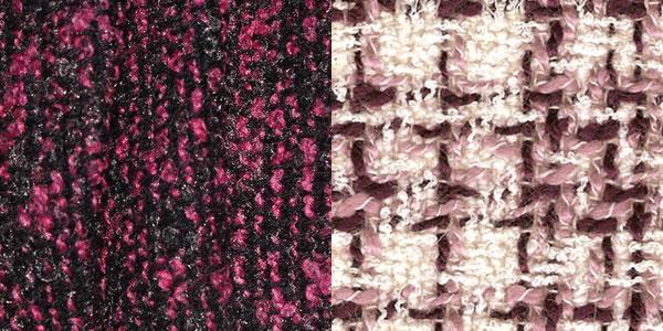 Изображение ткани букле