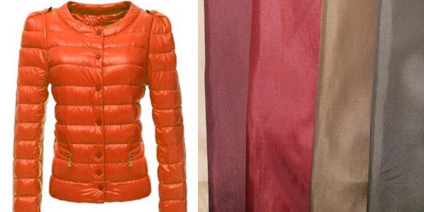 Материал и одежда
