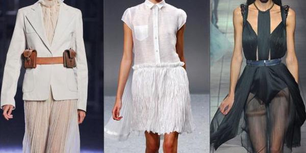 Одежда с эффектом крэша