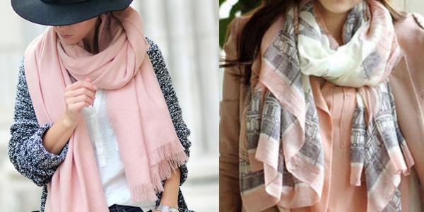 Тонкие шарфы