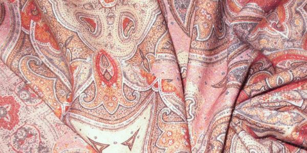 Красочная ткань